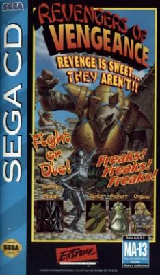 Revengers of Vengeance Cover Art