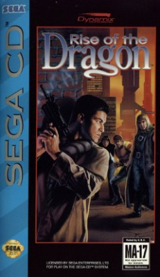 Rise of the Dragon Cover Art