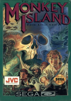 Secret of Monkey Island Cover Art
