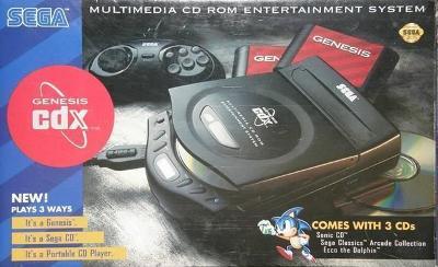 Sega CDX System Cover Art