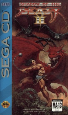 Shadow of the Beast II Cover Art
