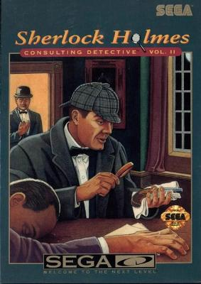 Sherlock Holmes Consulting Detective Vol. II Cover Art