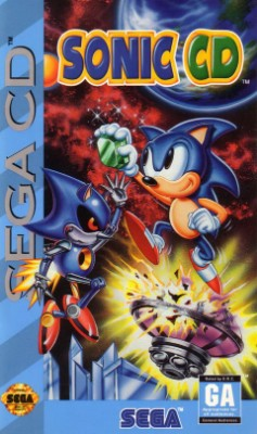Sonic CD Cover Art