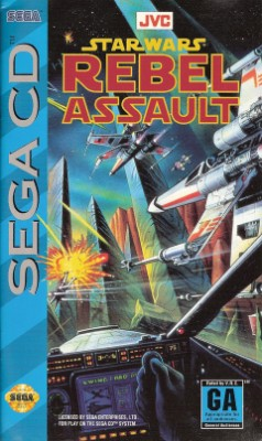 Star Wars: Rebel Assault Cover Art