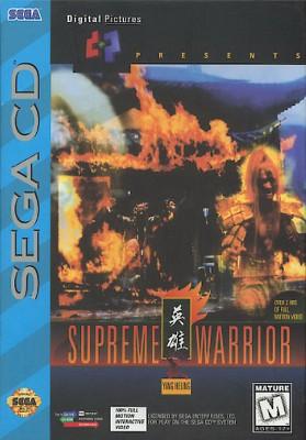 Supreme Warrior Cover Art