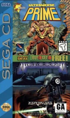 Ultraverse Prime / Microcosm Cover Art