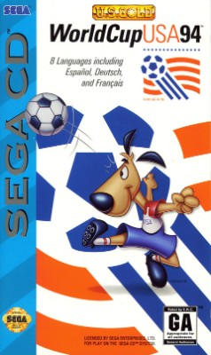World Cup USA 94 Cover Art