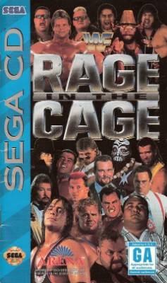 WWF Rage in the Cage Cover Art