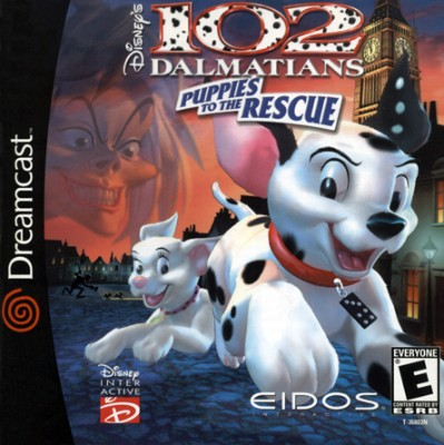 102 Dalmatians: Puppies to the Rescue Cover Art