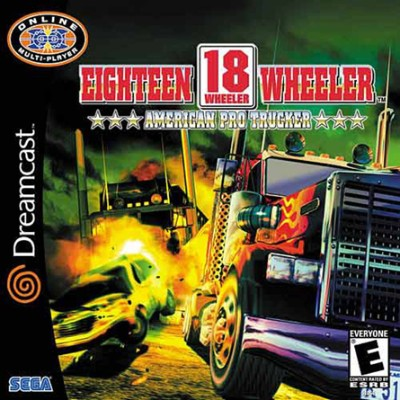 18 Wheeler: American Pro Trucker Cover Art