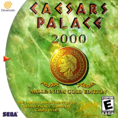 Caesars Palace 2000: Millennium Gold Edition Cover Art