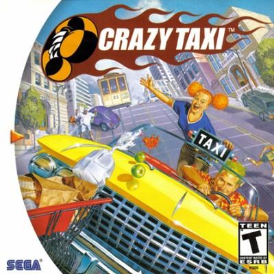 Crazy Taxi Cover Art