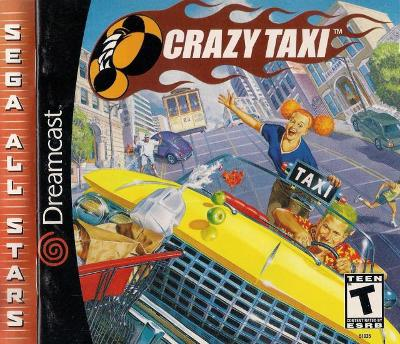 Crazy Taxi [Sega All Stars] Cover Art