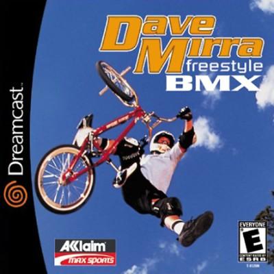 Dave Mirra Freestyle BMX Cover Art