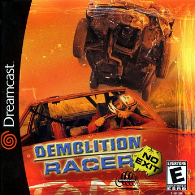 Demolition Racer: No Exit Cover Art