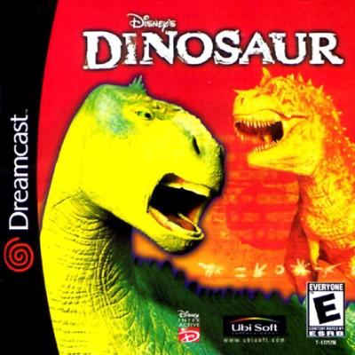 Disney's Dinosaur Cover Art