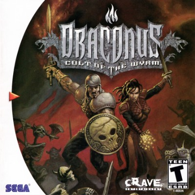 Draconus: Cult of the Wyrm Cover Art