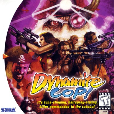 Dynamite Cop! Cover Art