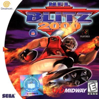 NFL Blitz 2000 Cover Art