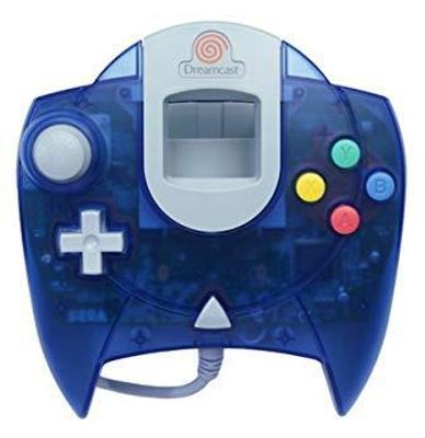 Sega Dreamcast Controller [Transparent Blue] Cover Art