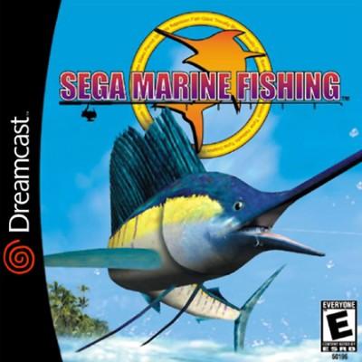 Sega Marine Fishing Cover Art