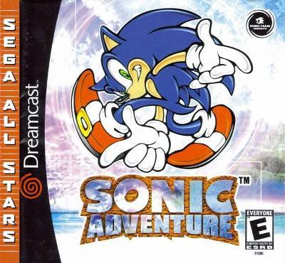 Sonic Adventure [Sega All Stars] Cover Art