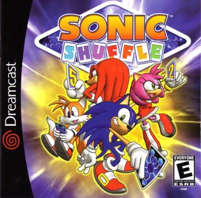 Sonic Shuffle Cover Art