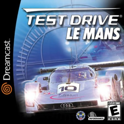 Test Drive Le Mans Cover Art