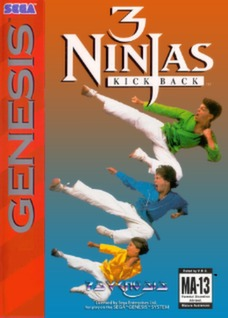 3 Ninjas Kick Back Cover Art