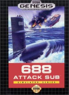 688 Attack Sub Cover Art