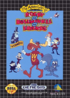 Adventures of Rocky and Bullwinkle and Friends Cover Art