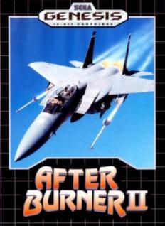 After Burner II Cover Art