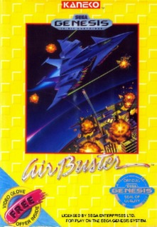 Air Buster Cover Art