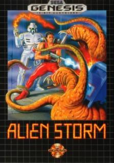 Alien Storm Cover Art