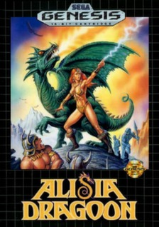 Alisia Dragoon Cover Art
