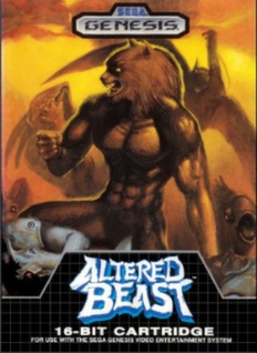 Altered Beast Cover Art