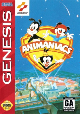 Animaniacs Cover Art