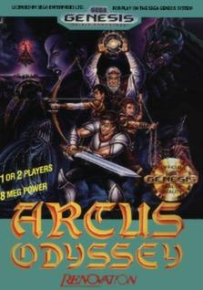Arcus Odyssey Cover Art