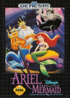 Ariel: The Little Mermaid Cover Art