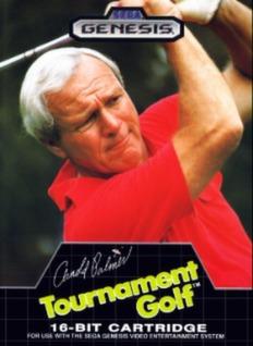 Arnold Palmer Tournament Golf Cover Art