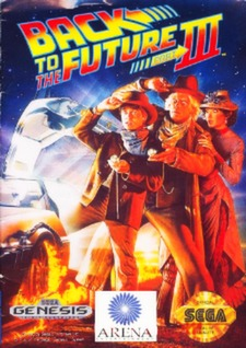 Back to the Future Part III Cover Art