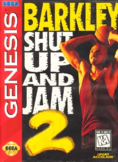 Barkley: Shut Up and Jam 2 Cover Art