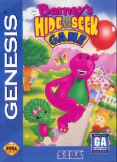 Barney's Hide & Seek Cover Art