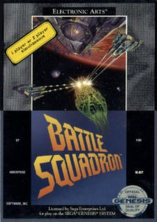 Battle Squadron Cover Art
