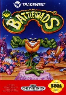 Battletoads Cover Art