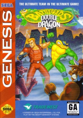 Battletoads & Double Dragon Cover Art