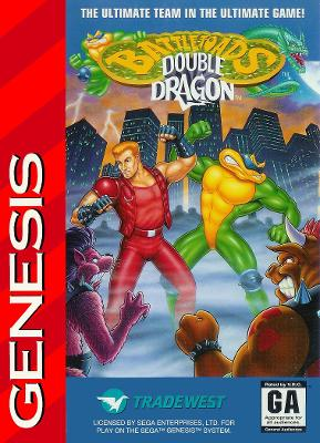 Battletoads & Double Dragon [Cardboard] Cover Art