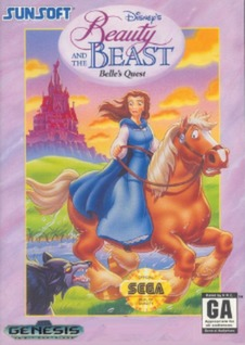 Beauty and the Beast: Belle's Quest Cover Art