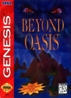 Beyond Oasis Cover Art
