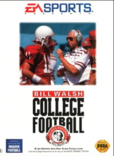 Bill Walsh College Football Cover Art